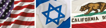 israel_usa_ca_flags